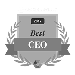 Comparably 2017 Best CEO Award